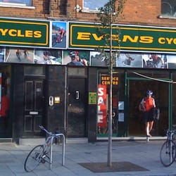 Evans Cycles, London