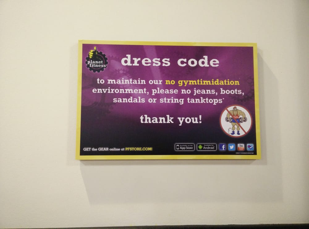 Planet Fitness  Alhambra  Alhambra, CA, United States. Dress code