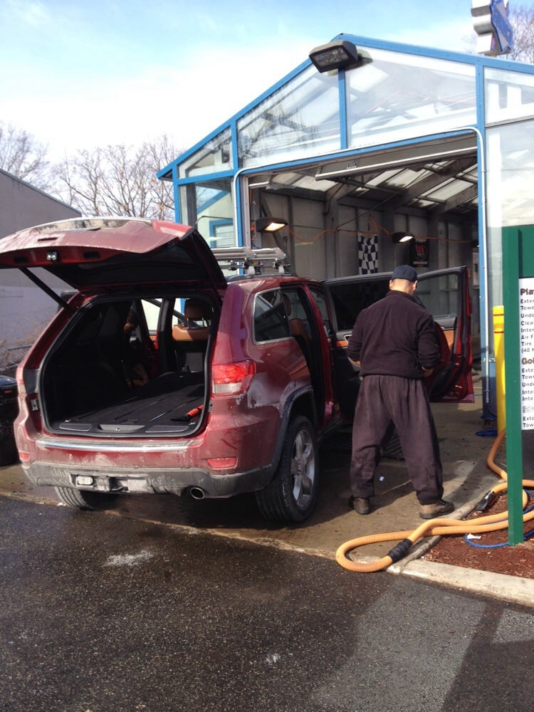 the green machine car wash