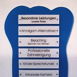 Praxisschild Dr. Katalin Weber