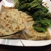Crepes & Croissants - Crepe... The Swiss? It has cheese, ham and red potato. GOOD - Columbia, SC, Vereinigte Staaten