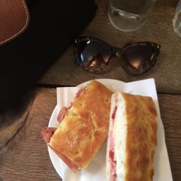 Jamon and cheese sambo
