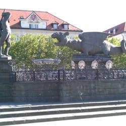 Lindwurm, Klagenfurt, Kärnten, Austria