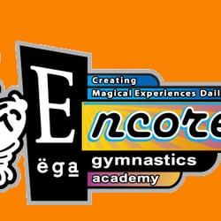 Encore Gymnastics Academy logo