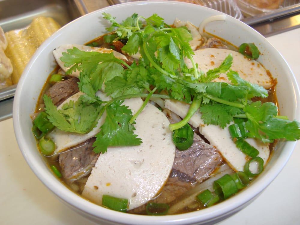 ... San Francisco, CA, United States. Bun Bo Hue - Spicy Beef Noodle Soup