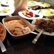 brunch buffet (other hot items)