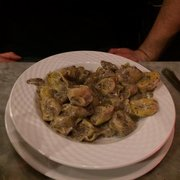 Gallo Romano - Paris, France. Truffle Tortellini...one of the best pastas ever!