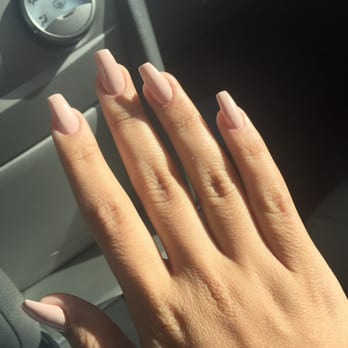 Natural looking french acrylic nails – Great photo blog about ...