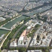 Musée du Quai Branly - Paris, France. Vu de la Tour Eiffel