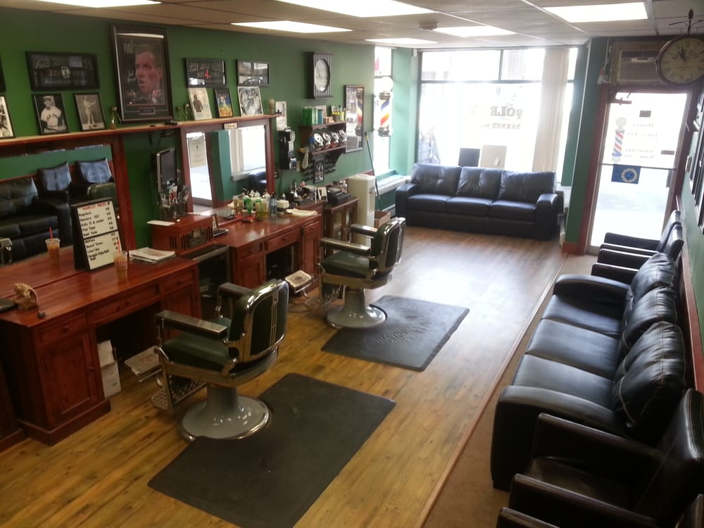 Barber Shop In The Area : ... Barber Shop with a touch of modern amenities. Waiting area seats 12