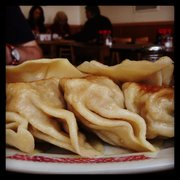 U-Lee Restaurant - Pot Stickers from the side - San Francisco, CA, United States