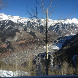 Allred's Restaurant - Telluride, CO, États-Unis. View during lunch!