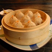 Legendary Shanghai Xiao-long-bao (soup dumplings)