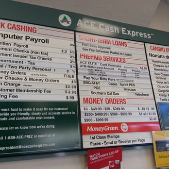 Find an ACE Cash Express near you: