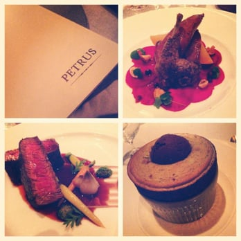 Quail, filet and the MOST DELICIOUS SOUFFLE IN THE WORLD!