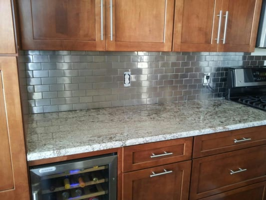 llc stainless steel tile backsplash englewood co united states