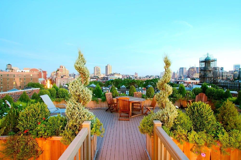 Roof Garden Design Greenwich Village Co Op Yelp