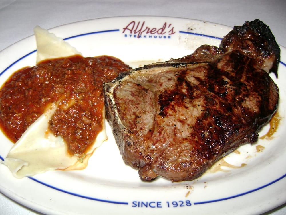 Alfred's Steakhouse - San Francisco, CA, United States. 20 oz. bone-in ...