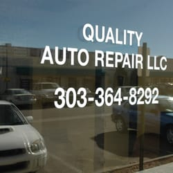 Quality Auto Repair Llc Aurora Co Yelp