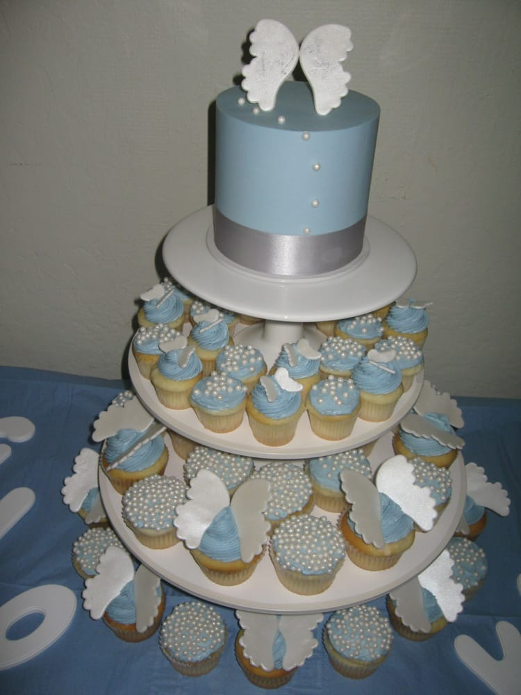 Angel Food Cake In Cupcakes