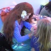 Kidsville PlayTown - Ariel face painting - Carlsbad, CA, Vereinigte Staaten