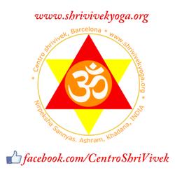 Logo del centro shri vivek, con la…