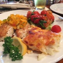 The fish market dijon crusted tilapia with choice of 2 for The fish market san mateo