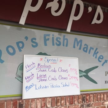 Pop s fish market 41 photos seafood restaurants 131 for Pops fish market