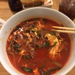 ... Restaurant & Sushi Bar - Austin, TX, United States. Spicy beef soup