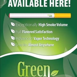 Different brands of electronic cigarettes