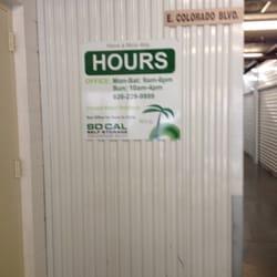 SoCal Self Storage - Pasadena, CA, États-Unis. NOV2013