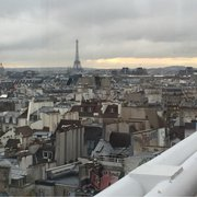 Le Georges - Paris, France. View overlooking Paris and the Eiffel