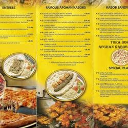 Tora bora afghan kebob pizza geschlossen for Afghan kebob cuisine