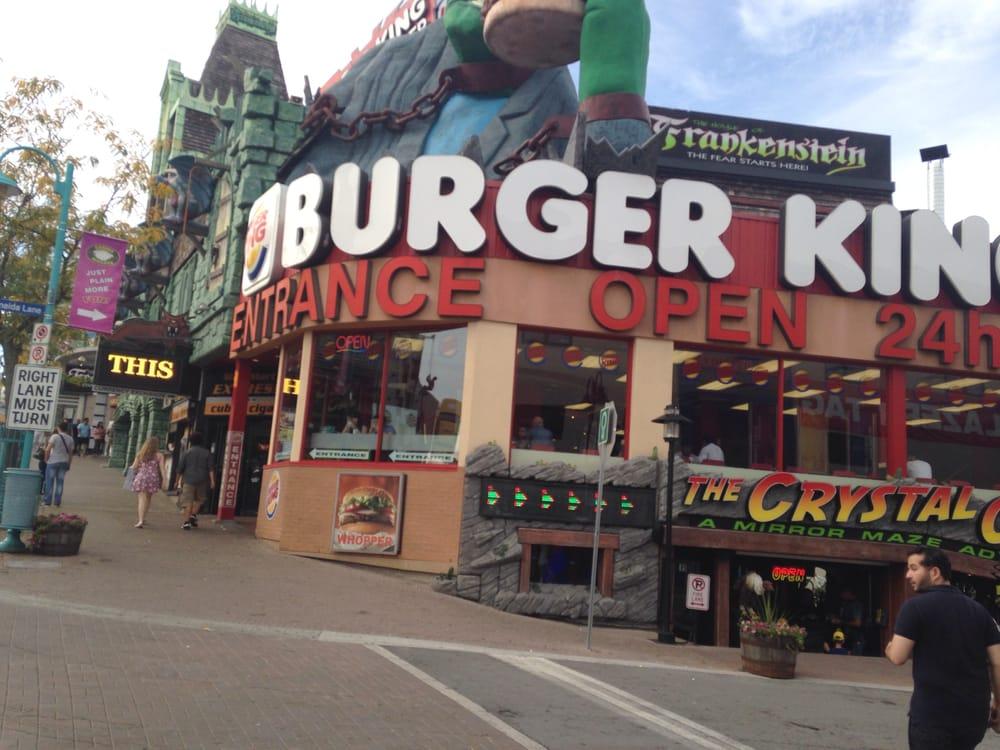 burger king restaurants hot dog 4967 clifton hill. Black Bedroom Furniture Sets. Home Design Ideas