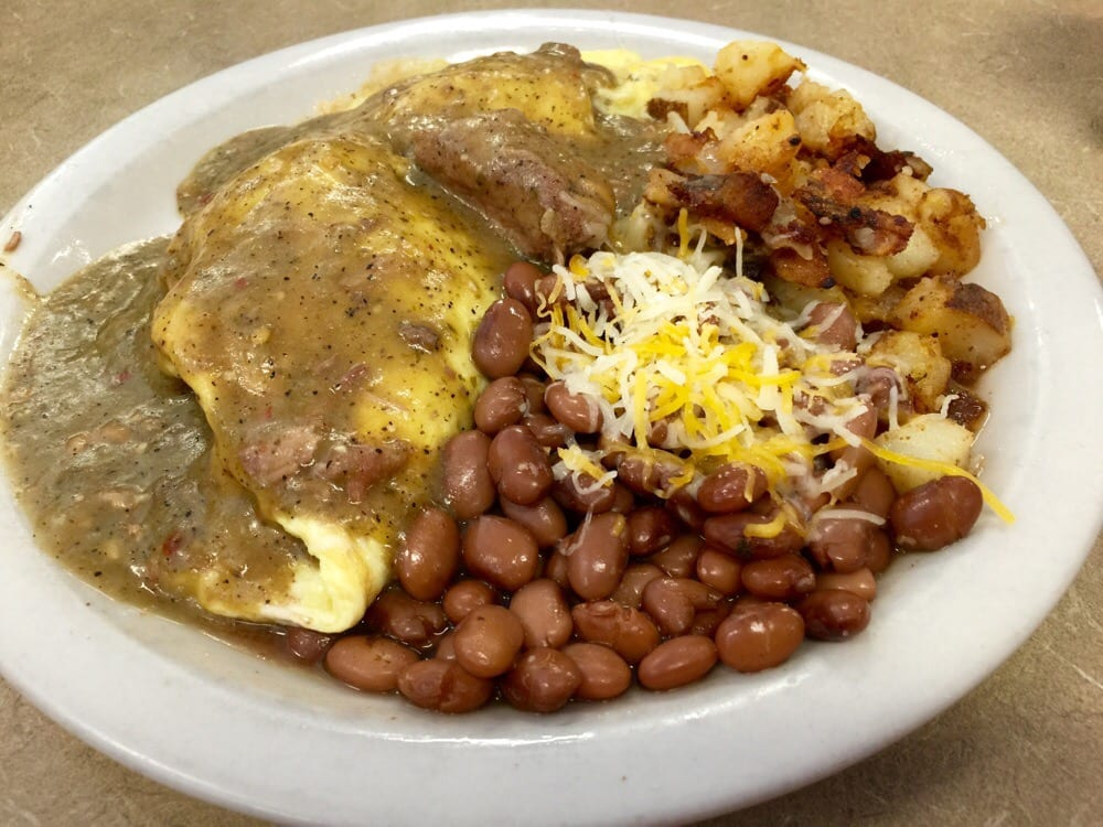 ... and green chile omelet food republic eggs chorizo potatoes green chile