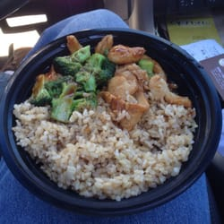 Chicken Broccoli With Brown Rice