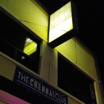 The Chennai Club - In case you fly by it at night - San Mateo, CA, United States