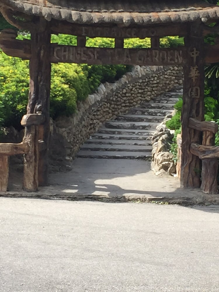 Originally The Japanese Tea Garden Changed To Chinese After Wwii Then Back To Japanese Hence