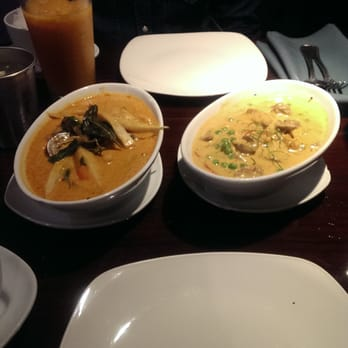 Ayara thai cuisine panang curry and red curry los for Ayara thai cuisine