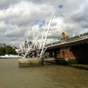 Golden Jubilee Bridge, London