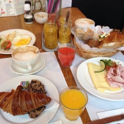 A beautiful breakfast! We ordered a…