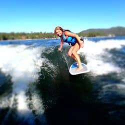 Big Bear Watersports School - Wake Surf - Big Bear Lake, CA, Vereinigte Staaten