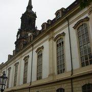 Dreikönigskirche, Dresden, Sachsen