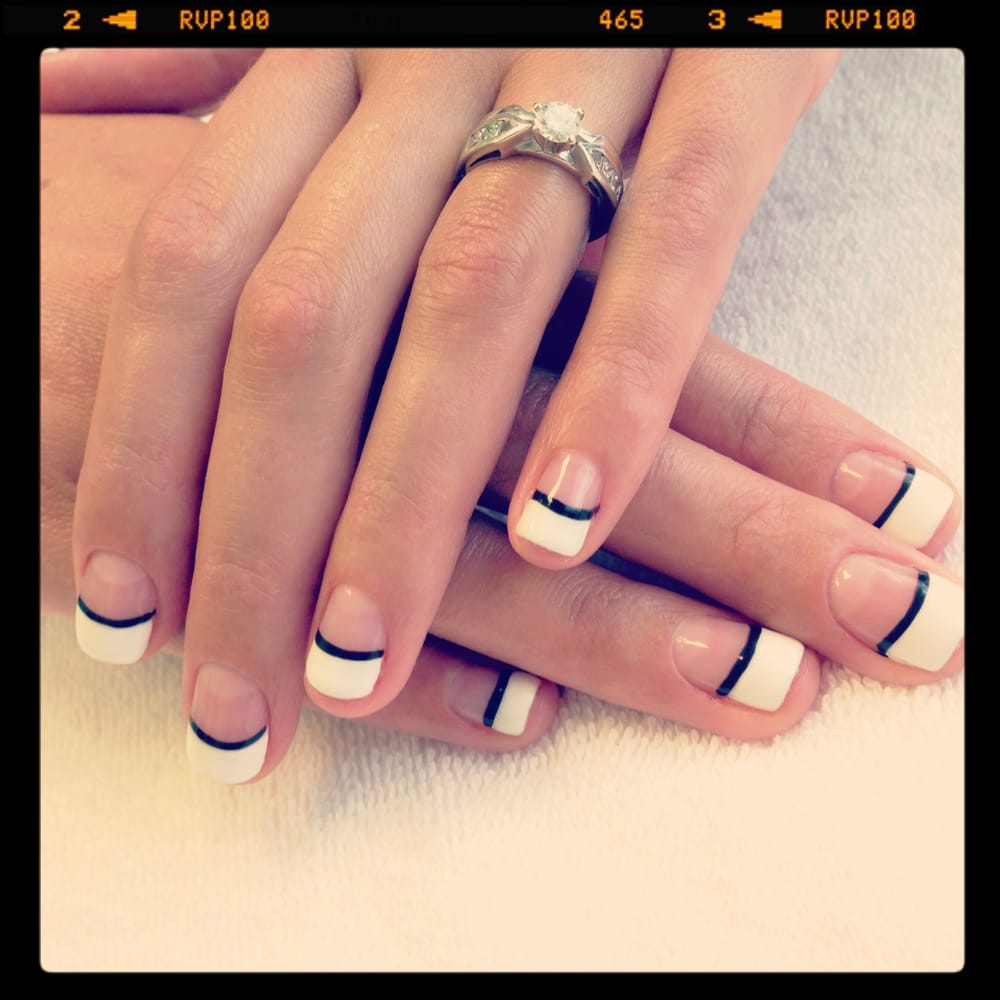 Fantastic Gel Nails French Manicure Pictures - Nail Art Design Ideas ...