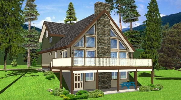 Design xgibc a frame house plans