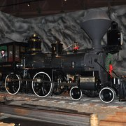 California State Railroad Museum - Some great steam locomotives on display - Sacramento, CA, Vereinigte Staaten