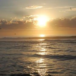 Sun setting in Australia!