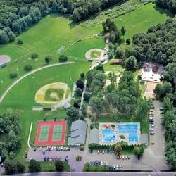 Maple Street Park - Aerial view of Maple Street Park - Essex Junction, VT, Vereinigte Staaten