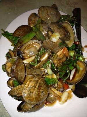 clams with basil | Yelp