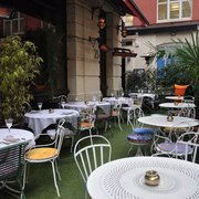Enjoy our outdoor terrace